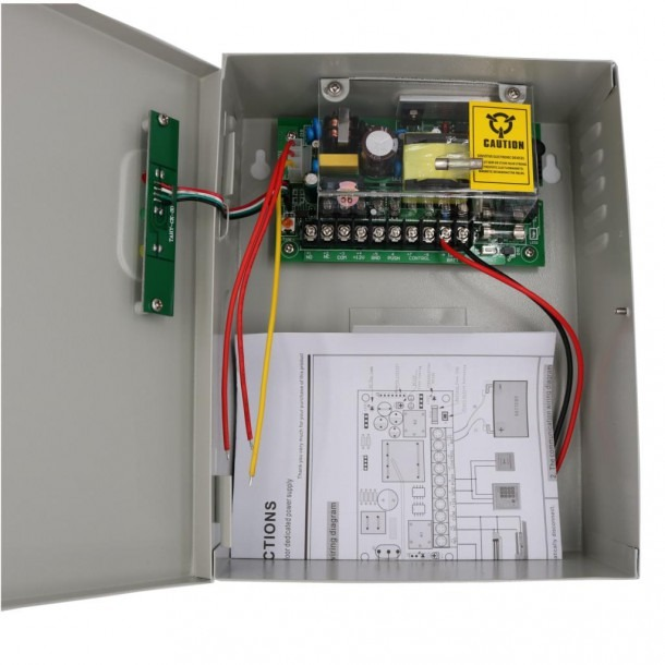 12v 5a Universal Power Supply For Door Access Control System With
