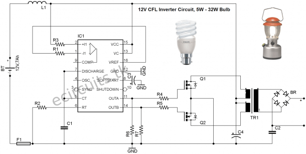 Cfl Driver Wiring Diagram