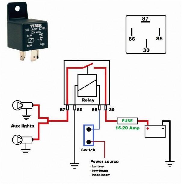 Smoke Detector Wiring Diagram: 12v Relay Wiring Diagram 5 Pin