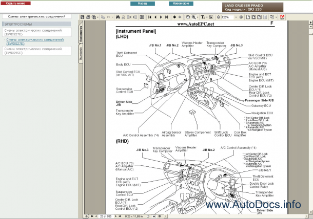 Prado Wiring Diagram