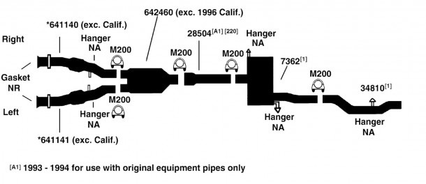 Chrysler Concorde Exhaust Diagram From Best Value Auto Parts