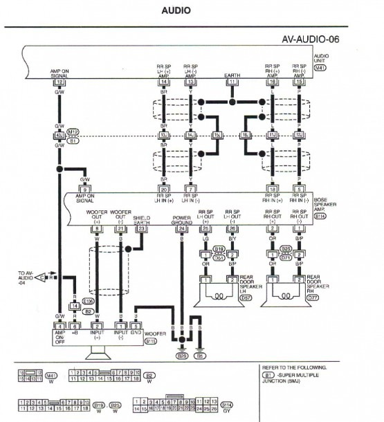 Wiring Diagram For Car Speakers To Amp