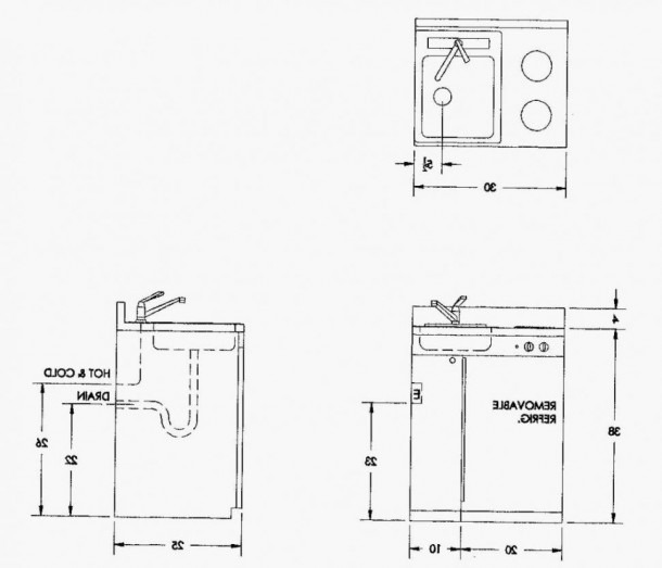 15 Ideas Kitchen Sink Plumbing Rough In Diagram Trend