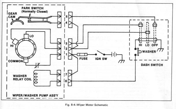 Buick Wiper Motor Wiring Diagram