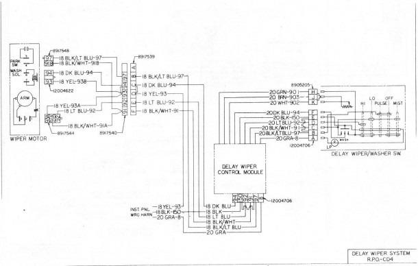 Gm Steering Column Wiring Diagram
