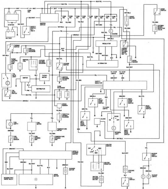 1981 Honda Accord Engine Wiring Diagram