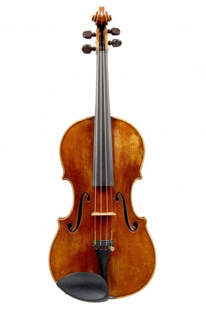 A French Violin By Paul Kaul, Paris 1933 Labelled  Paul Kaul