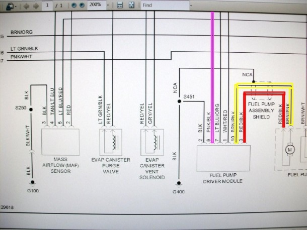 2004 Mustang Fuel Pump Wiring Diagram
