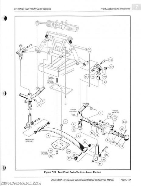 98 Club Car Parts Diagram