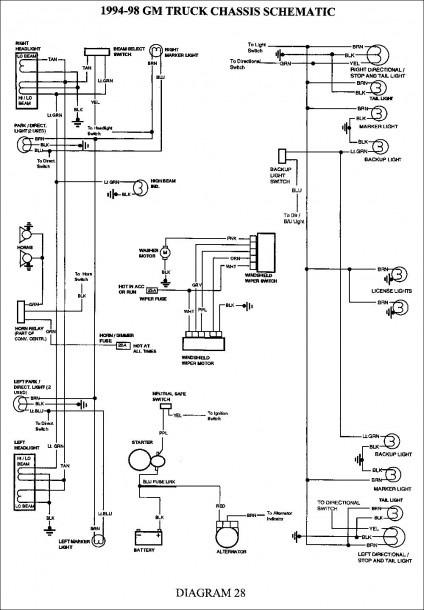 01 Silverado Wiring Diagram