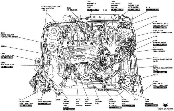 2003 Ford Focus Zx3 Engine Diagram