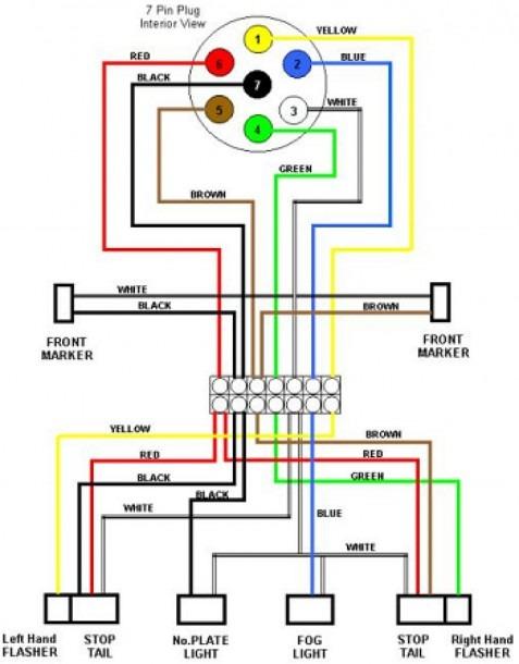 4 Pin Harness Wiring Diagram
