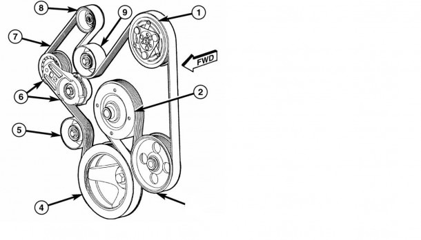 2012 Dodge Hemi Belt Diagram