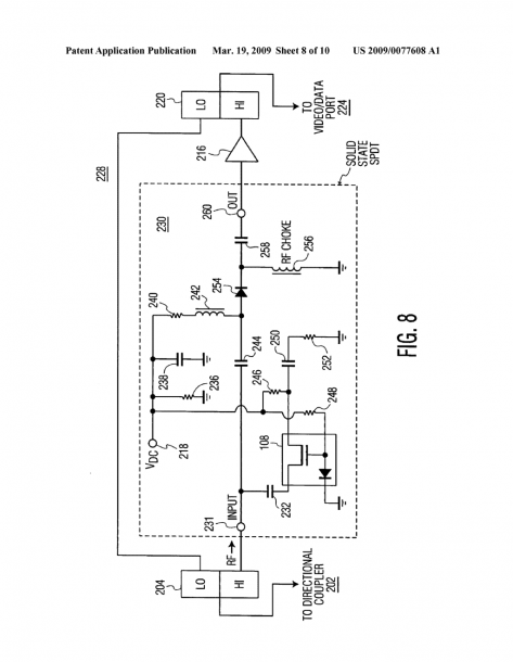 Constant Input Port Impedance For Catv Amplifier With Passive