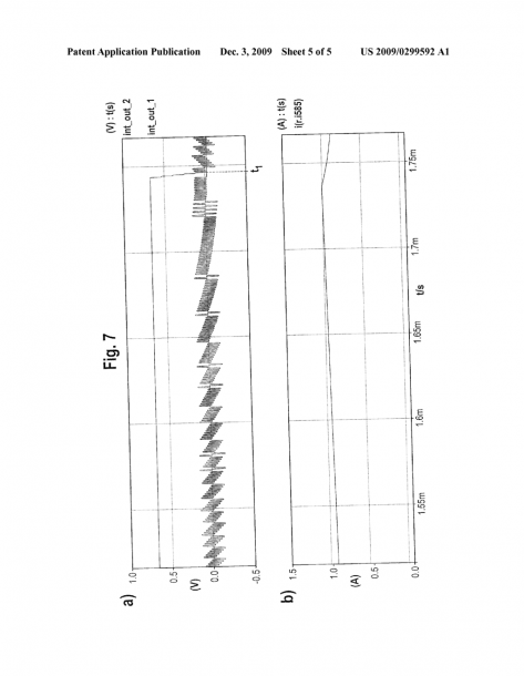 Method And Electronic Regulator With A Current Measuring Circuit