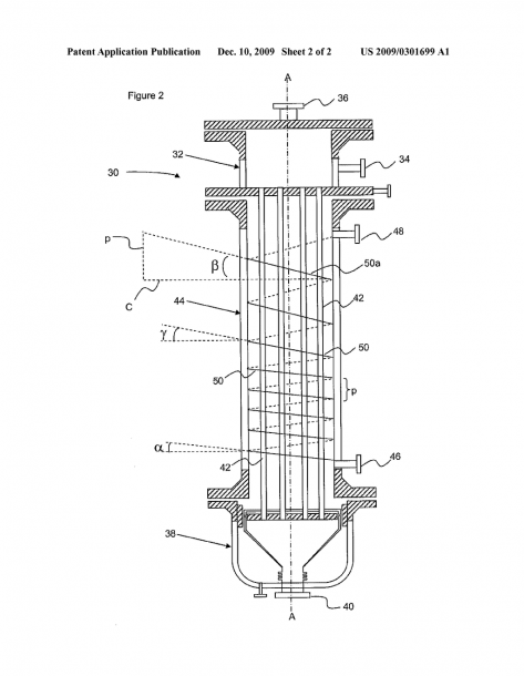 Vertical Combined Feed Effluent Heat Exchanger With Variable