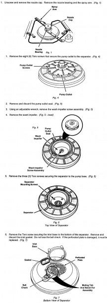 Kenmore Ultra Wash Dishwasher Schematic