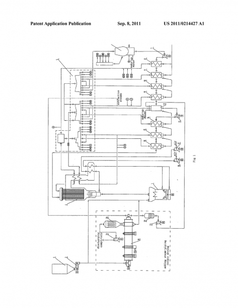 Process For Reducing Coal Consumption In Coal Fired Power Plant