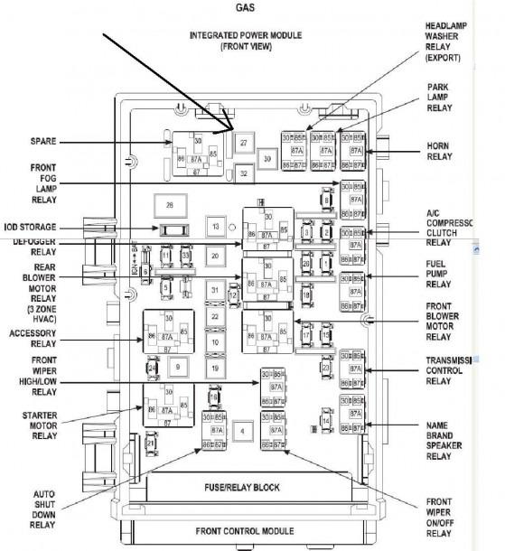 2004 Durango Fuse Diagram