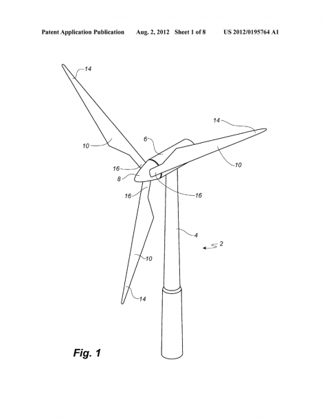 Wind Turbine Blade With Plurality Of Longitudinally Extending Flow