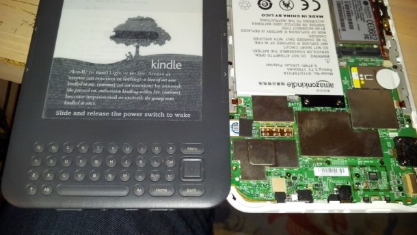 Siliconfish  Repaired Kindle 3 Keyboard 3g That Was Freezing