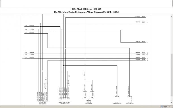 Mack Fuel Pump Diagram