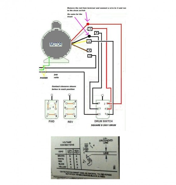Drum Switch Wiring Schematic