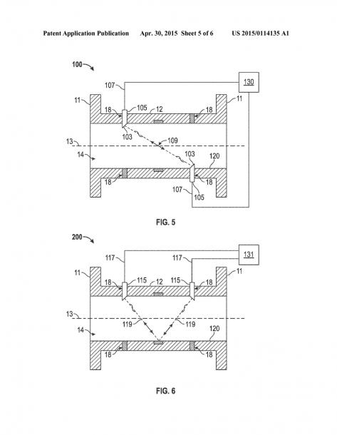 Method For Ultrasonic Metering Using An Orifice Meter Fitting