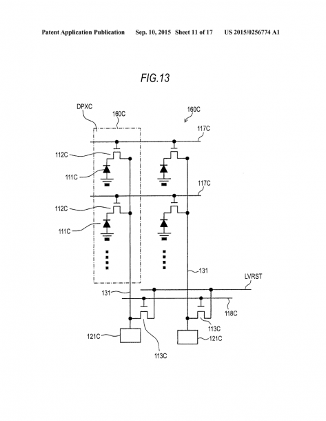 Imaging Device And Camera System Including Sense Circuits To Make