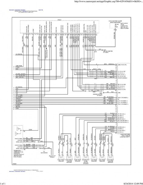 Factory Pioneer Amp Speaker Wire Diagram