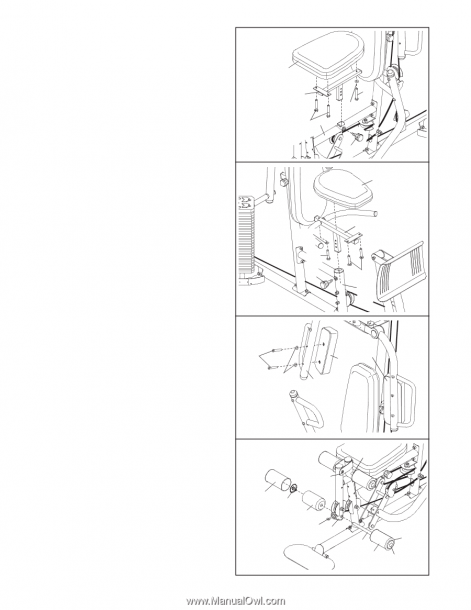 Weider Pro 4950 Cable Diagram