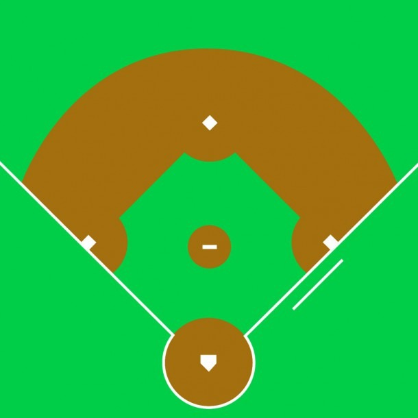 Baseball Field Diagram Printable Group With 35+ Items
