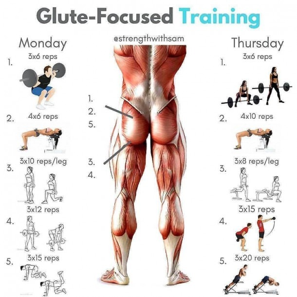 Glutes Workout For Yours For More Content Follow Us @workout__