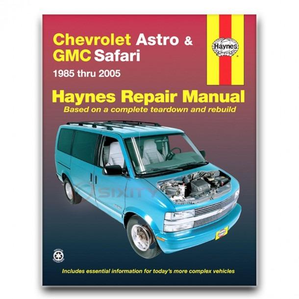 Haynes 24010 Repair Manual Chevrolet Astro And Gmc Safari 85