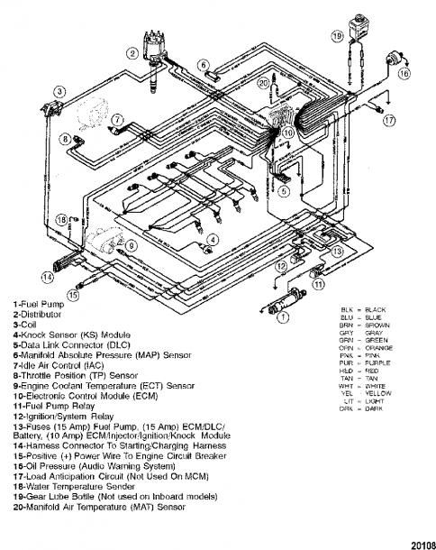 454 Mercruiser Engine Wiring Diagram