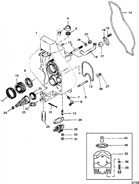 Mercruiser   Alpha One (gen  Ii) Sterndrive And Transom Assembly