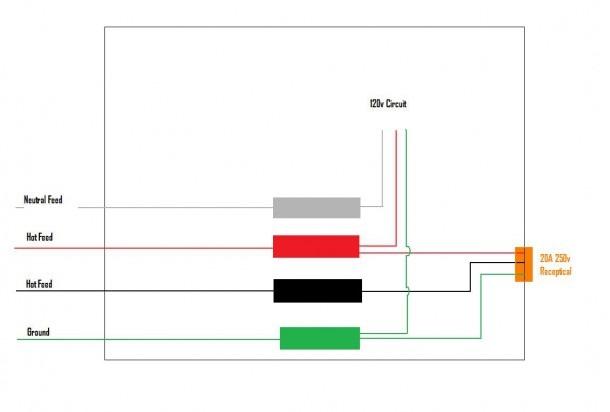 4 Wire 220v Wiring Diagram