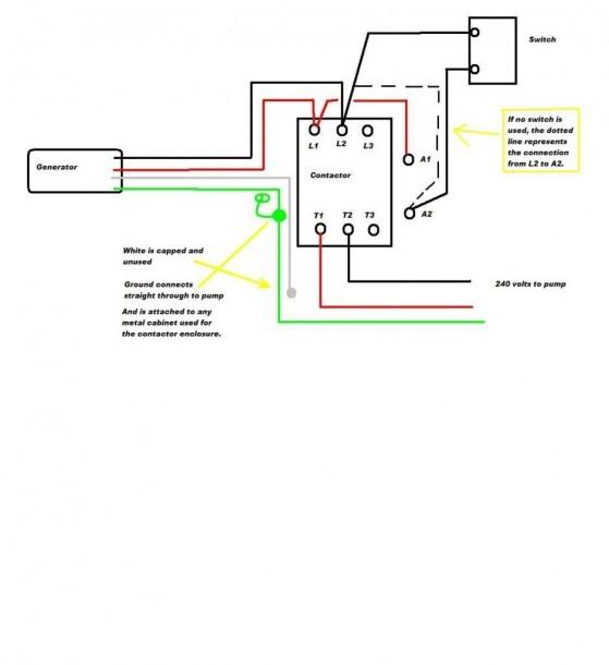 4 Pole Contactor Diagram