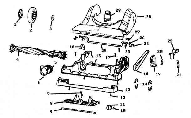 Eureka Vacuum Parts Diagram