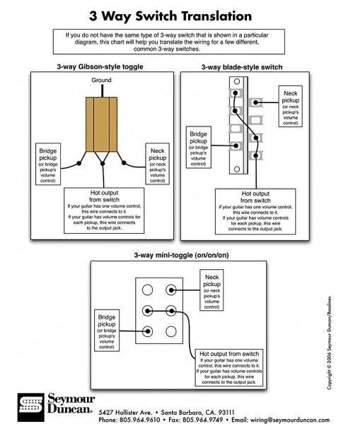 3 Way Toggle Switch Diagram