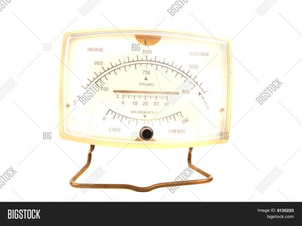Aneroid Barometer Image & Photo (free Trial)