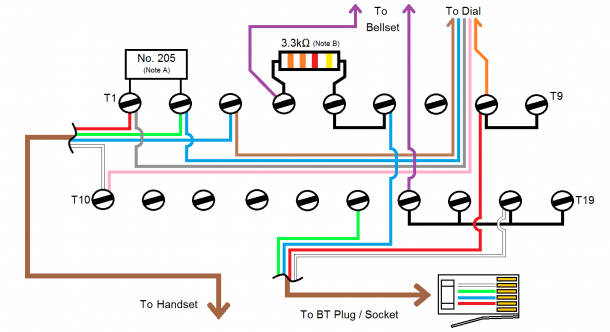 Phone Wiring Board Diagram