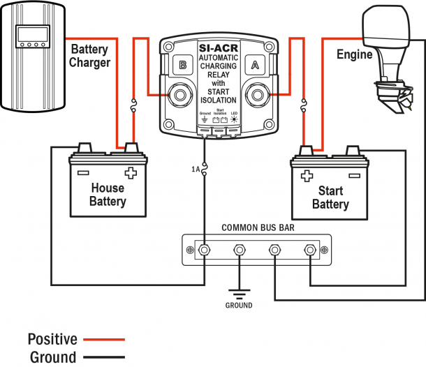 Battery Wiring Diagram For Boat