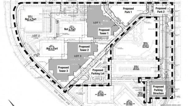 Koll Center Residences Proposal Works In The John Wayne Airport