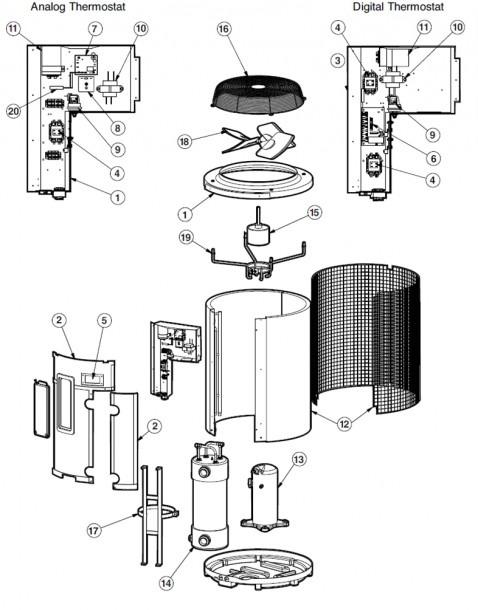 Hayward Heatpro® Hp2100, Hp2100tco, Hp1100, Hp600, Hpabgdeluxe