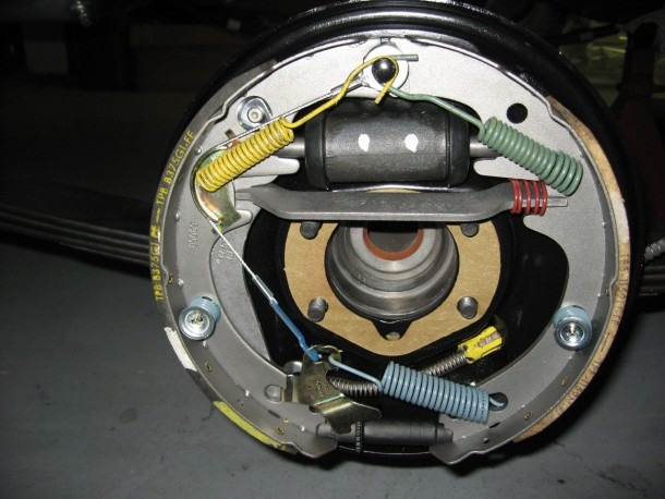 Lincoln Brakes Diagram