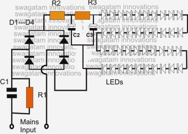 Circuit Diagram Led Bulb