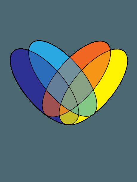 4 Way Venn Diagram Generator