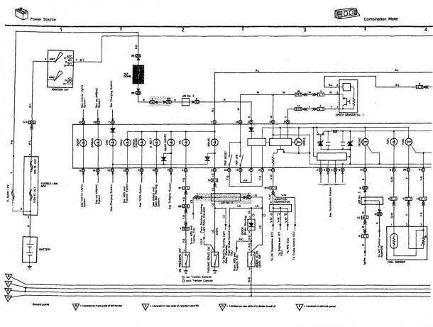 2013 Lexus Wiring Diagram