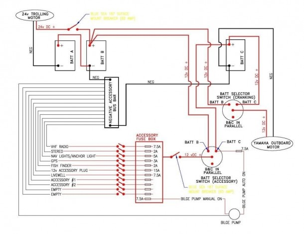 Simple Boat Wiring Diagram